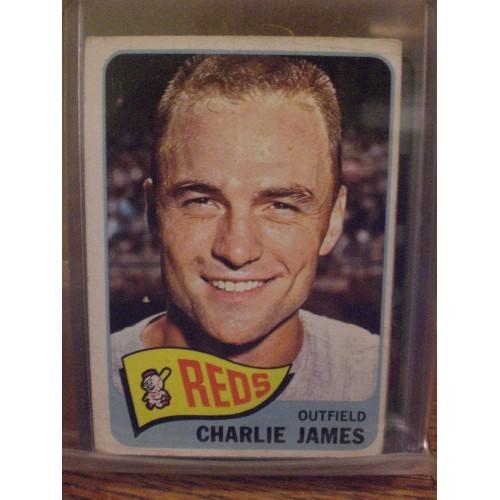 BASEBALL CARD: 1965 TOPPS  141 CHARLIE JAMES VG