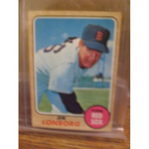 BASEBALL CARD: 1968 TOPPS 460 / JIM LONBORG / EX