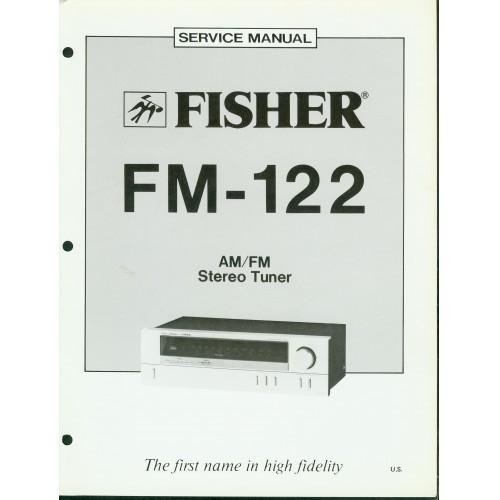 Fisher FM-122 Tuner Service Manual