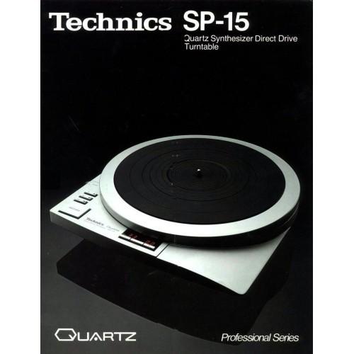 Technics SP-15 Turntable Sales Brochure