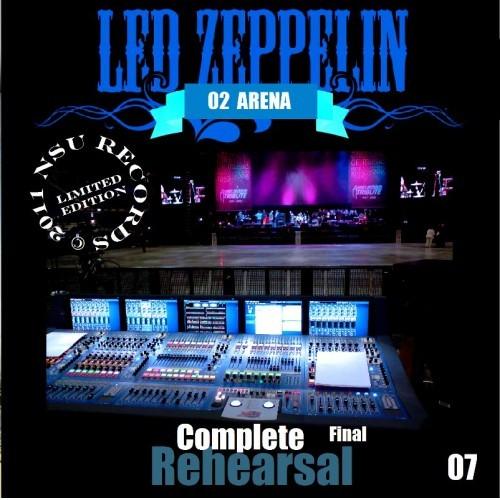 """LED ZEPPELIN """"COMPLETE"""" FINAL 02 REHEARSAL LTD 2CD"""