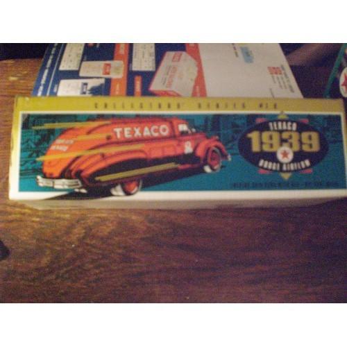 TEXACO / ERTLE BANK:  1939 DODGE AIRFLOW  COLLECTORS SERIES #10