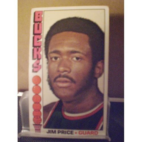 BASKETBALL CARD: 1976 TOPPS 32 JIM PRICE VG