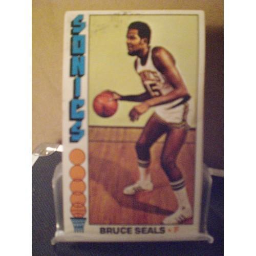 BASKETBALL CARD: 1976 TOPPS #63 BRUCE SEALS  VG