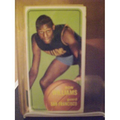 BASKETBALL CARD: 1970 TOPPS #8 RON WILLIAMS VG