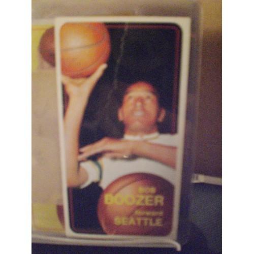BASKETBALL CARD: 1970/71 TOPPS 41 BOB BOOZER GD CREASE