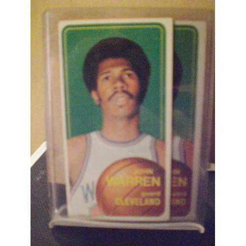 BASKETBALL CARD: 1970/71 TOPPS 91 JOHN WARREN VG/EX