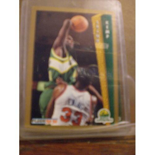 BASKETBALL CARD: 1992 FLEER #213 SHAWN KEMP NM/M
