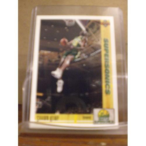 BASKETBALL CARD: 1991 UPPER DECK # 173 SHAWN KEMP NM/M