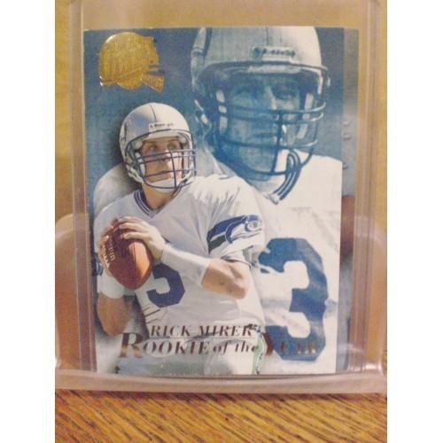 FOOTBALL CARD:  1994 FLEER ULTRA  ROY 10  RICK MIRER NM