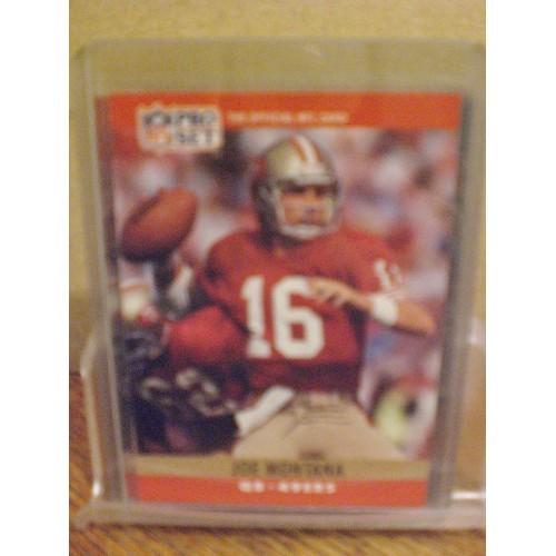 FOOTBALL CARD:  1990 PRO SET #293 JOE MONTANA NM