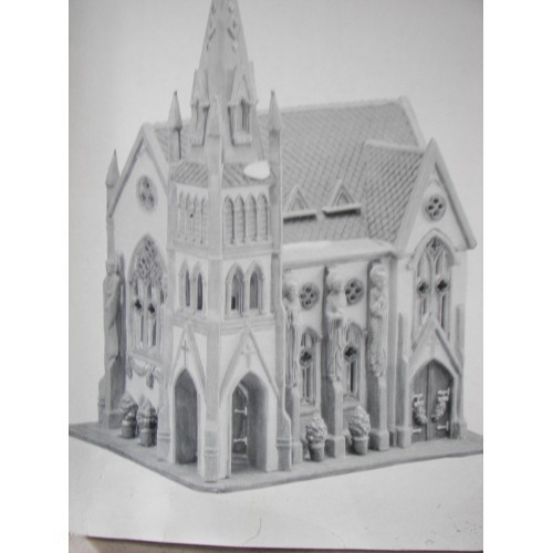 DEPT 56-CHRISTMAS IN THE CITY-ALL SAINTS CORNER CHURCH