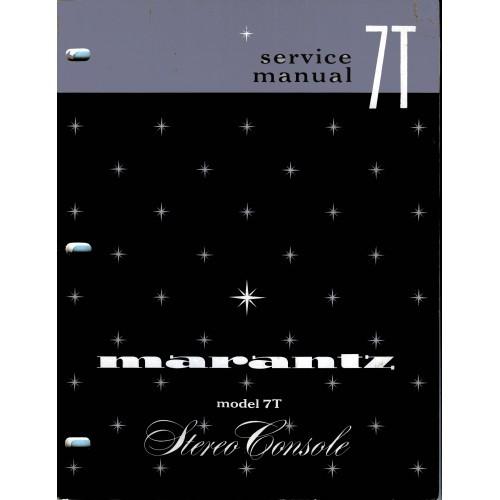 Marantz Model 7T Console Service Manual