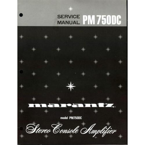 Marantz PM-750DC Amplifier Service Manual
