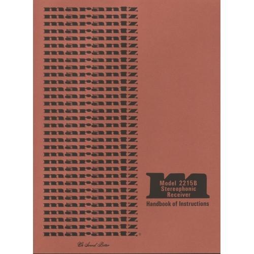 Marantz Model 2215B Receiver Owners Manual
