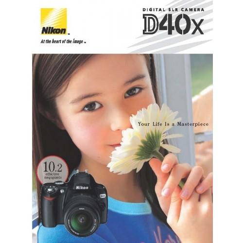 Nikon - D40X Camera  Sales Brochure
