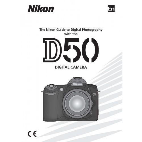 Nikon - D50 Camera  Owners Manual