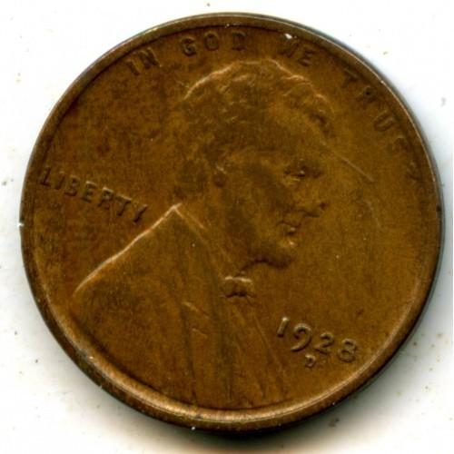 1928d Lincoln Cent Higher Grade