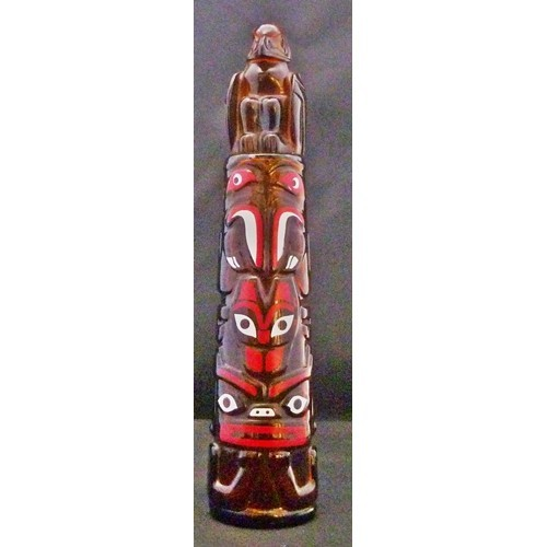 Avon Wild Country – 1975 Totem Pole After Shave Decanter - Bottle