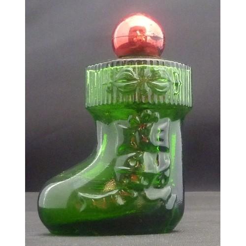 Avon Moonwind Cologne – Christmas Suprise Boot Decanter – Bottle