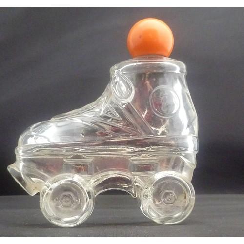 1980 Avon Zany Cologne Roller Skate in Shoe Decanter – Bottle