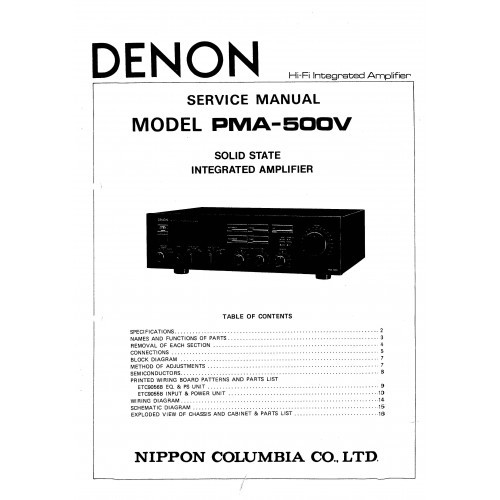 denon pma 500v manual dexterity