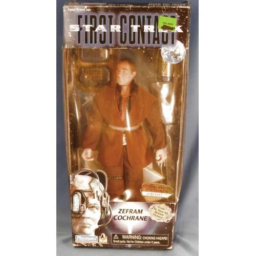 1996 Star Trek First contact Zefram Cochrane 9 inch Doll