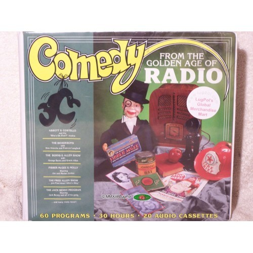Comedy from the Golden Age of Radio, Tapes, Vintage, Radio Spirits