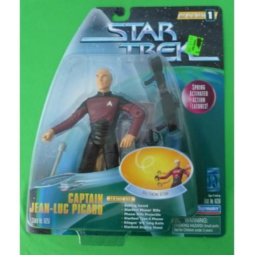 Star Trek Warp Factor Series 1 – Captain Jean-Luc Picard Action Figure