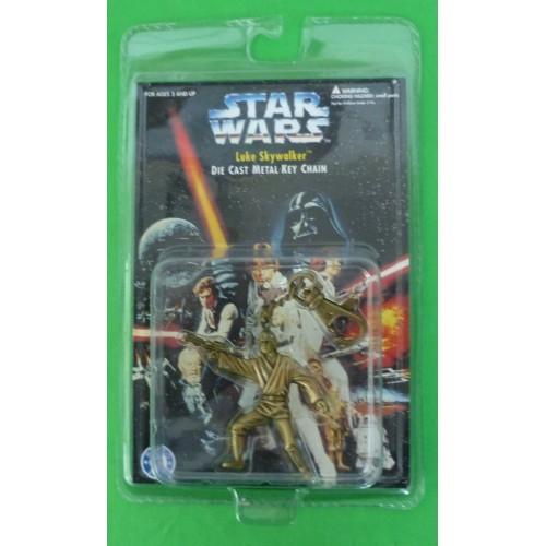 Star Wars Luke Skywalker Die Cast Metal Key Chain