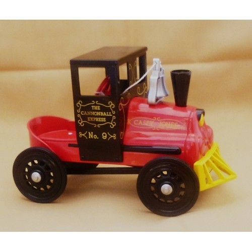 1994 Casey Jones Locomotive Hallmark Kiddie Car Classics Reproduction { Mib }