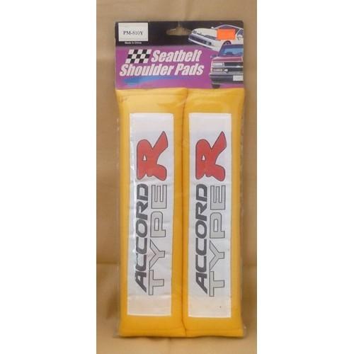Set of 2 Honda Accord Type R Seatbelt Shoulder Pads