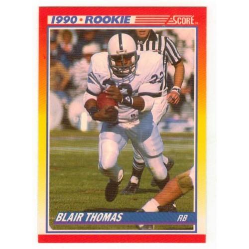 1990 Score Blair Thomas Rookie Card 300 - LN