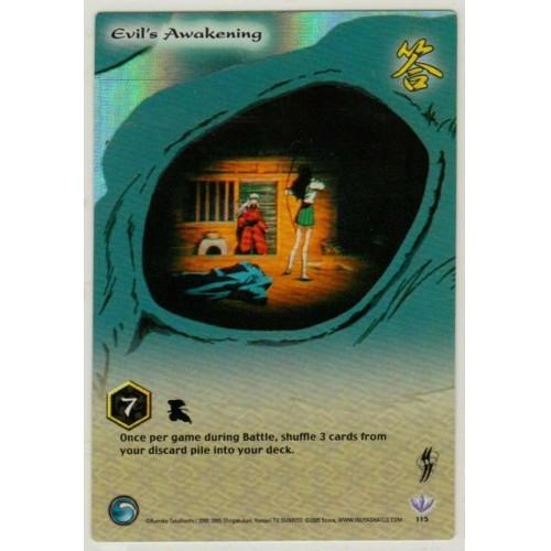 Inuyasha  TCG Yokai Game Card # 115