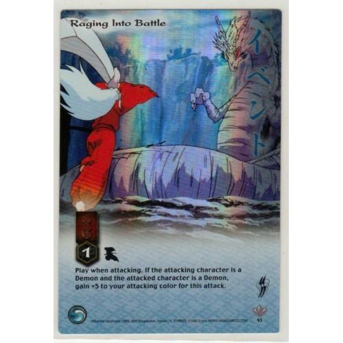 Inuyasha  TCG Yokai Game Card # 93