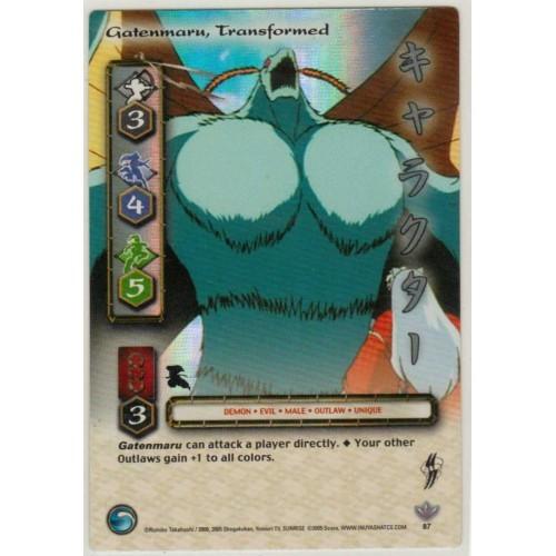 Inuyasha  TCG Yokai Game Card # 87
