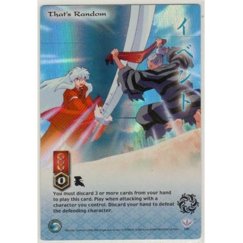Inuyasha TCG Jaki Game Card # 101