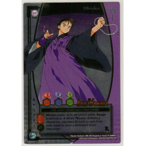 Inuyasha TCG Keshin Game Card # FW5