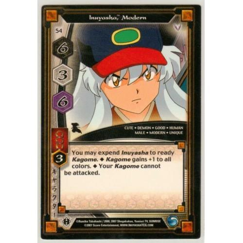Inuyasha TCG Keshin Game Card # 54