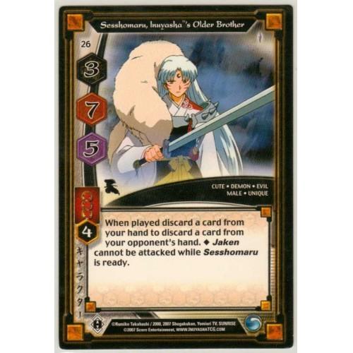 Inuyasha TCG Keshin Game Card # 26