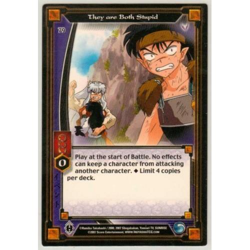 Inuyasha TCG Keshin Game Card # 79