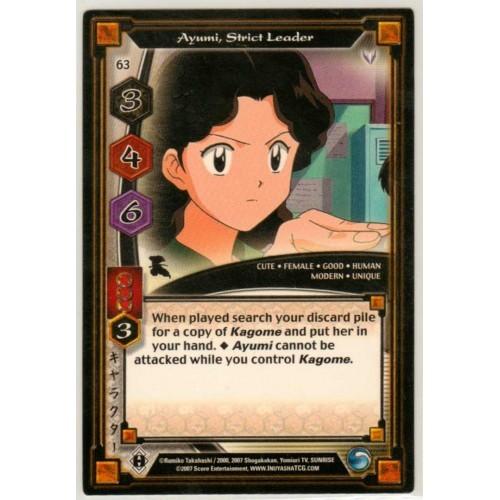 Inuyasha TCG Keshin Game Card # 63