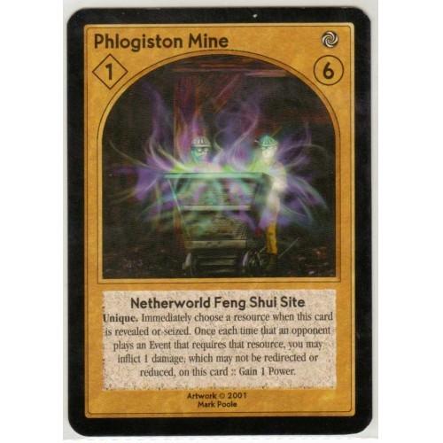 ShadowFist / NetherWorld 2 Game Card: Phlogiston Mine