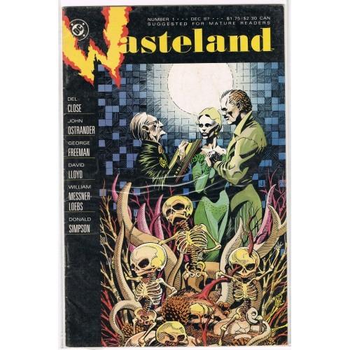 1987 WasteLand Comic # 1 - VG
