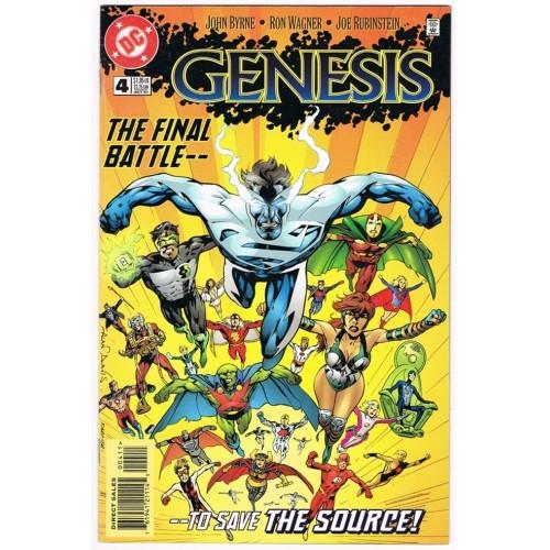 1997 Genesis Comic # 4 – VF