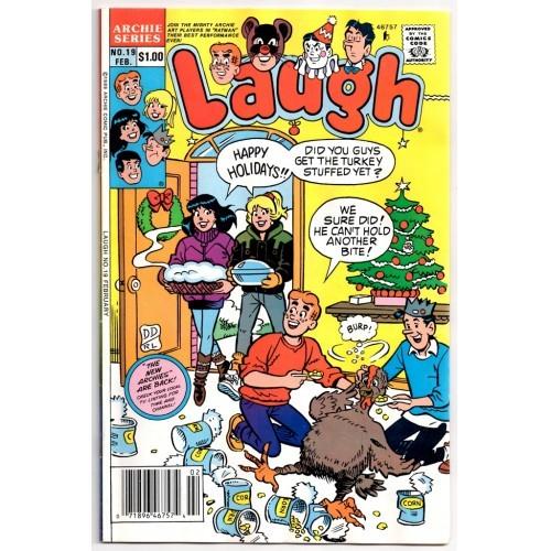Archie Series 1990 Laugh Comic # 19 – FN