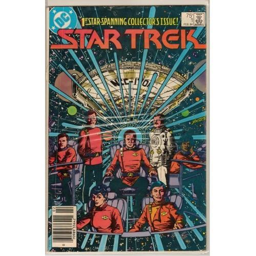 1984 Star Trek Comic # 1 – VG