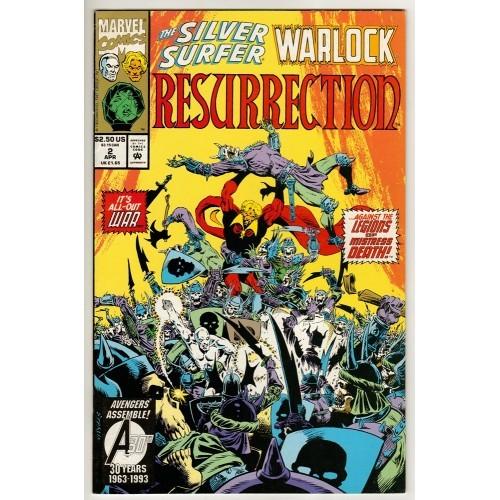 1993 Silver Surfer Warlock Resurrection Comic # 2 – NM