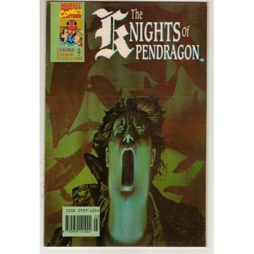 1991 Knights of Pendragon Comic # 9 – NM+