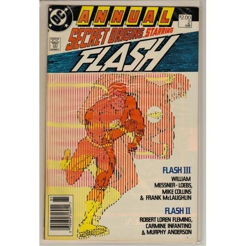 1988 Secret Origins Annual Comic # 2  - VG